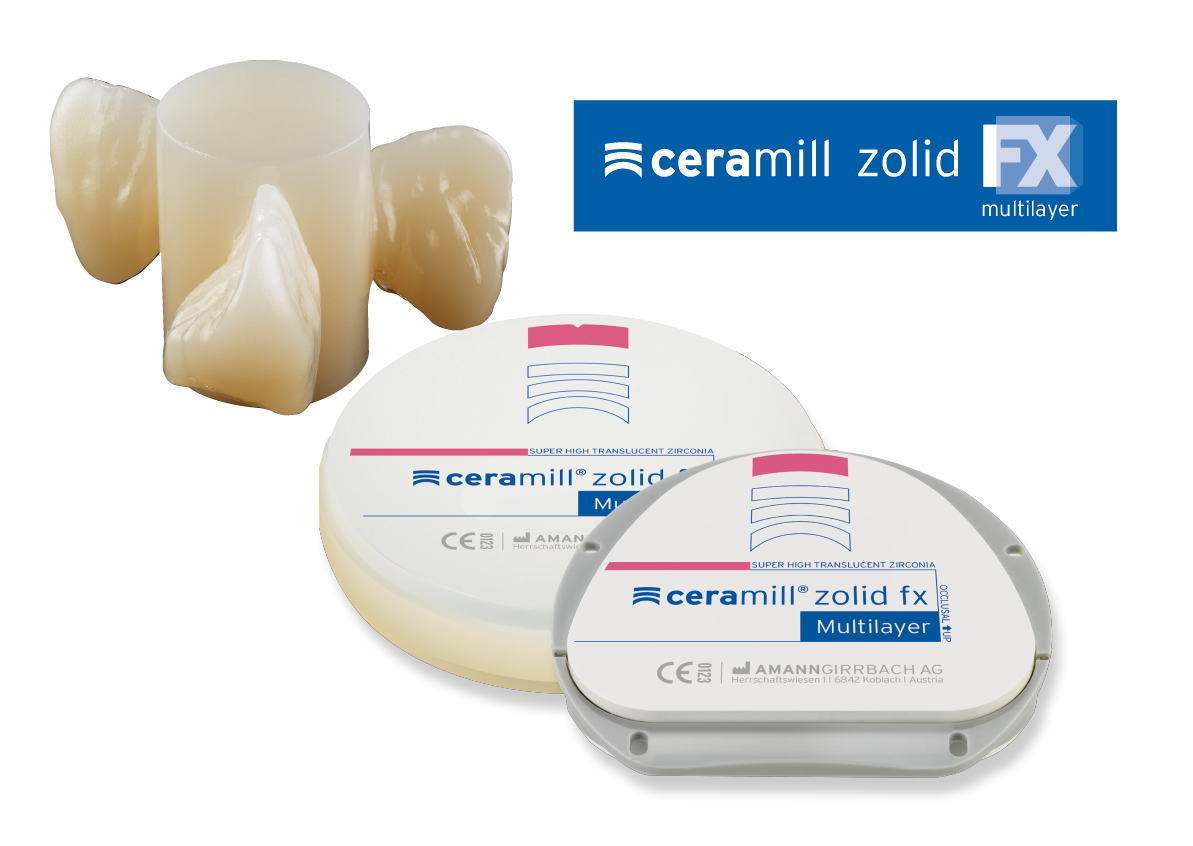 AGセラミル シリーズ Ceramill Zolid FX Multilayer